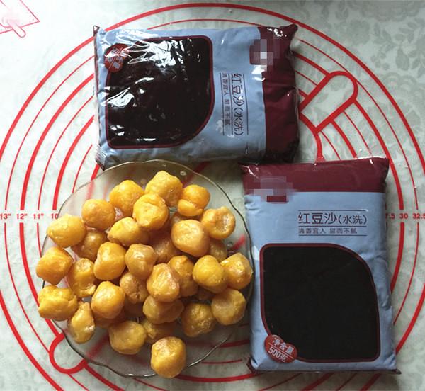紫薯粉蛋黄酥怎么炒