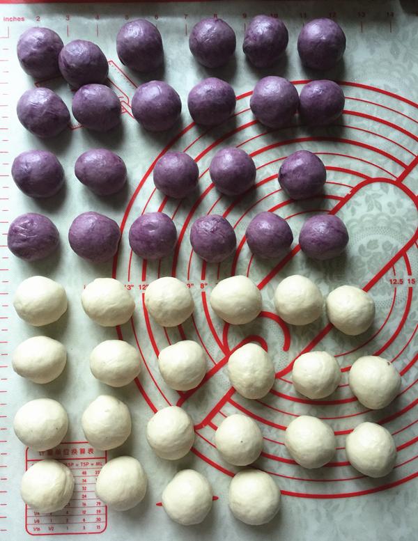 紫薯粉蛋黄酥怎样做