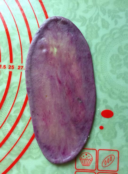 紫薯粉蛋黄酥怎样炒