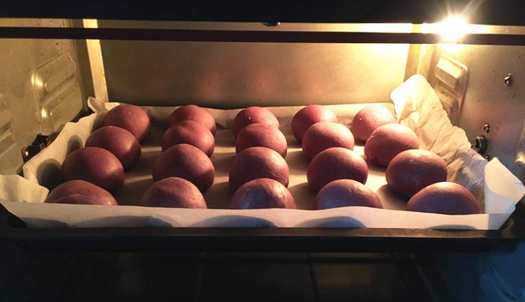 紫薯粉蛋黄酥的做法大全