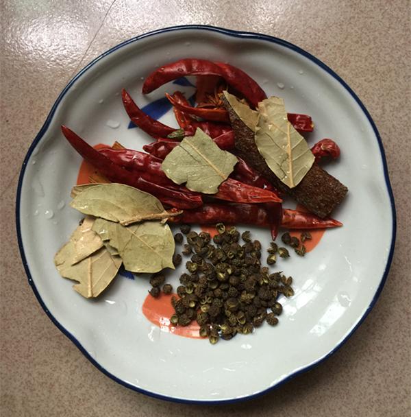 卤兰花豆干的做法图解