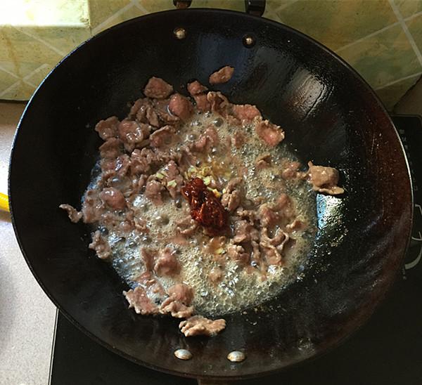 小炒牛肉怎么做