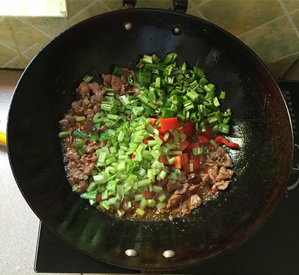 小炒牛肉怎么炒