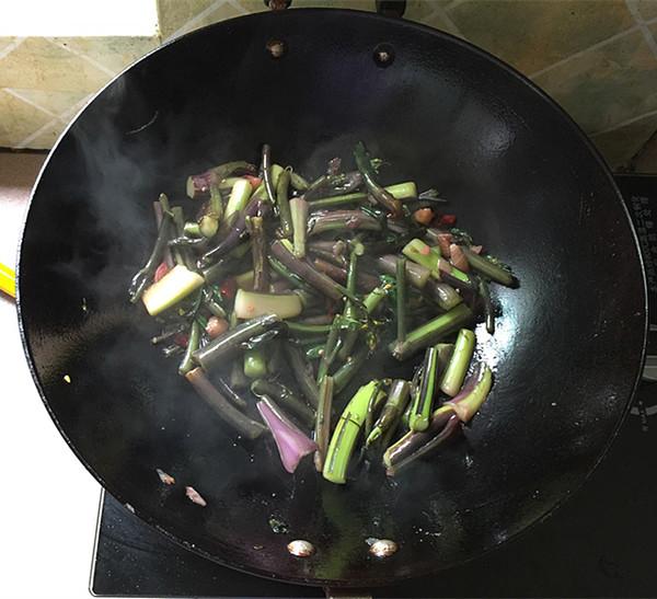 酸辣红菜苔怎么煮