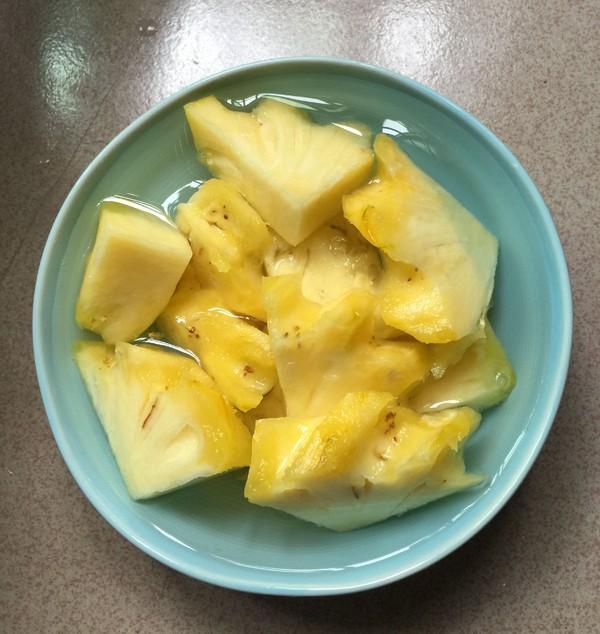 糖醋菠萝排骨怎么吃