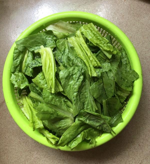 莴笋叶猪杂汤的简单做法