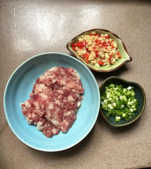 肉末蒸金针菇的家常做法