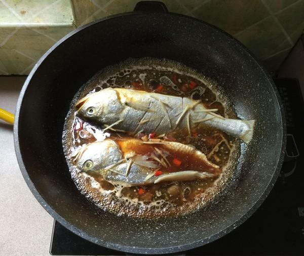 酱油水烧黄鱼怎么煮