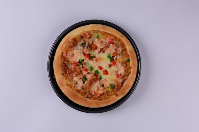 鲜虾培根披萨怎样煸