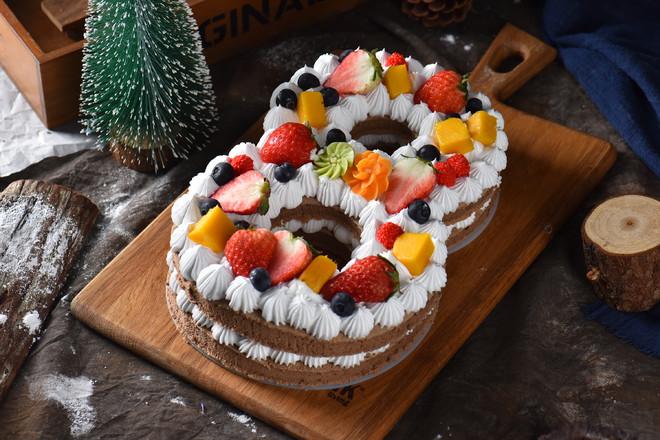 数字蛋糕8成品图