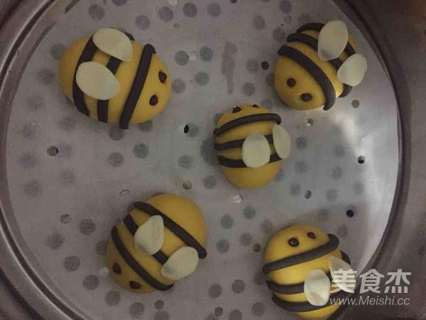 小蜜蜂馒头的制作方法