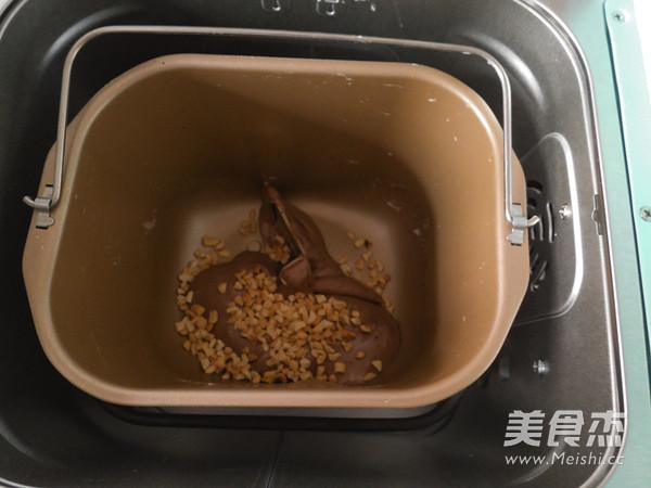 面包机版—可可花生牛轧糖的简单做法