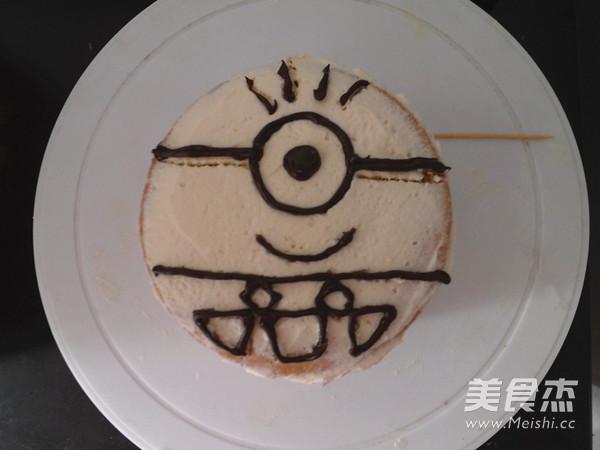 小黄人生日蛋糕怎么炖