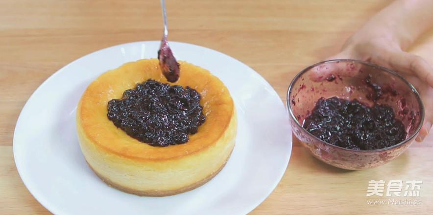烤蓝莓重芝士蛋糕的做法大全