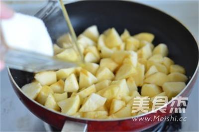 苹果派怎么炒