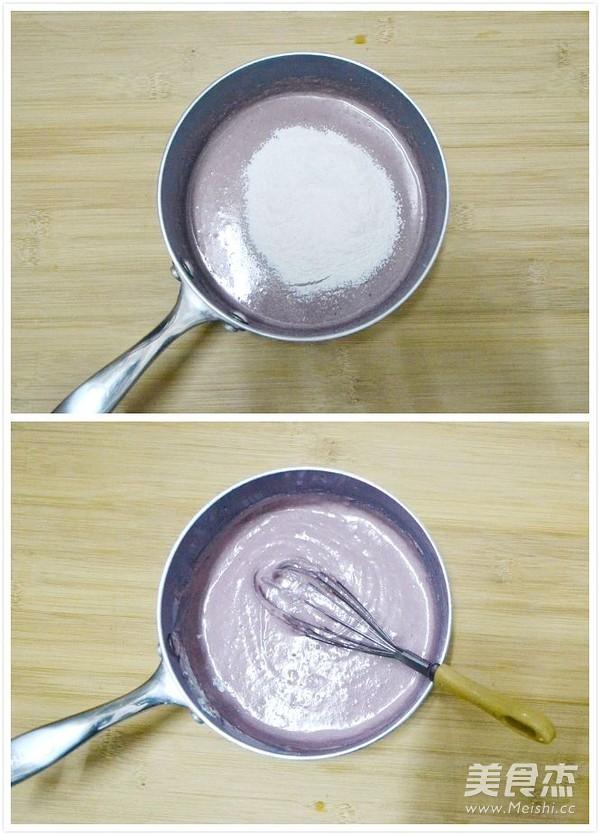 紫薯奶酪水晶慕斯怎么吃