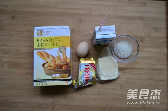 奶酪牛奶排包的步骤
