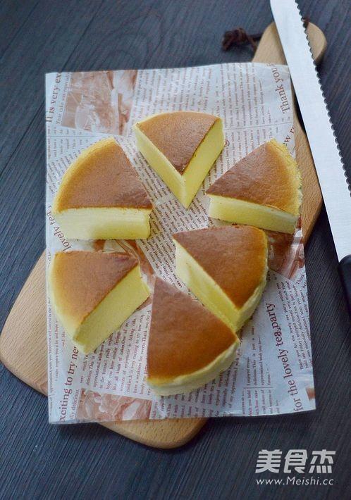轻乳酪蛋糕的步骤
