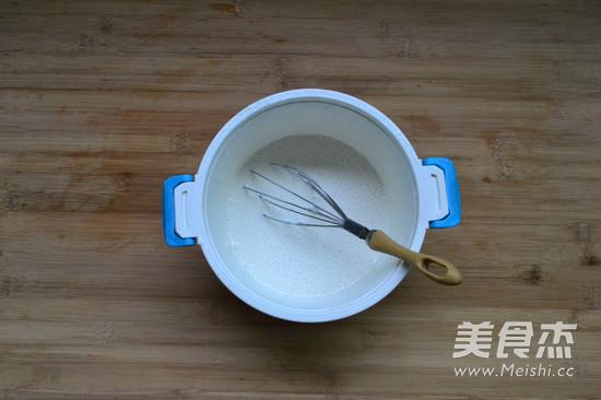 椰香黄金糕的简单做法