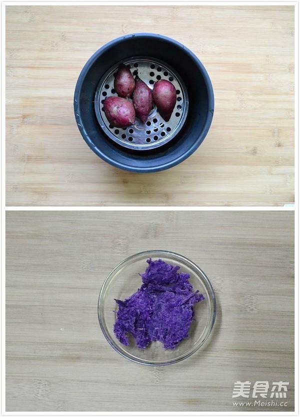紫薯奶酪水晶慕斯的做法大全