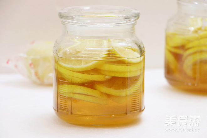 蜂蜜浸柠檬成品图
