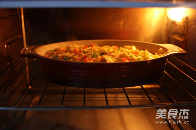 芝士焗土豆泥的制作
