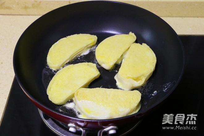 蛋煎馒头片怎么做