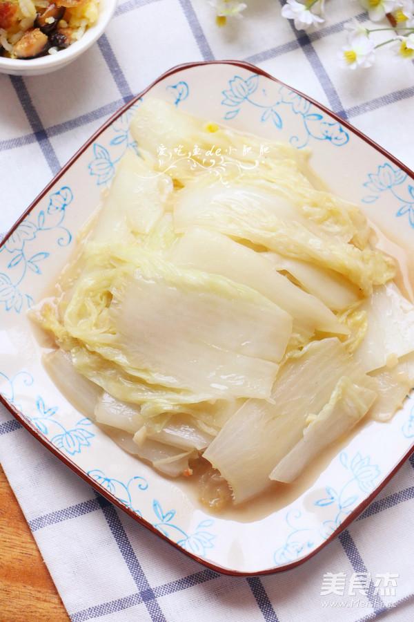 腐乳大白菜成品图