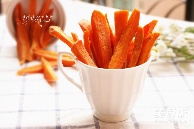 红薯干成品图