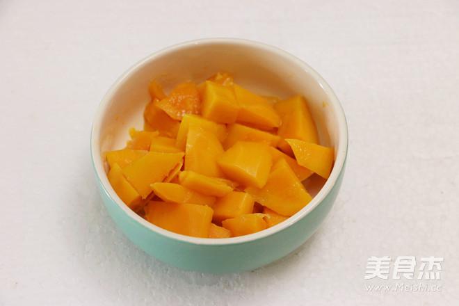 芒果蜂蜜牛奶饮的做法图解