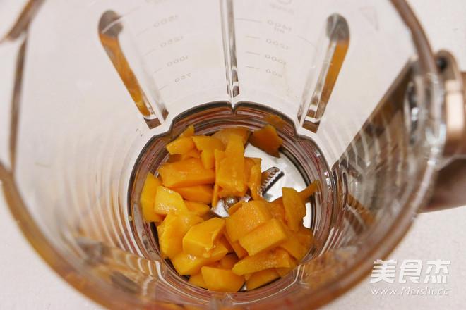 芒果蜂蜜牛奶饮的家常做法