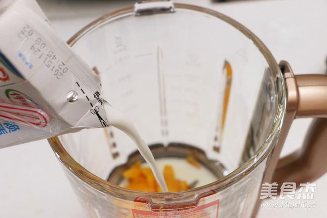 芒果蜂蜜牛奶饮的简单做法