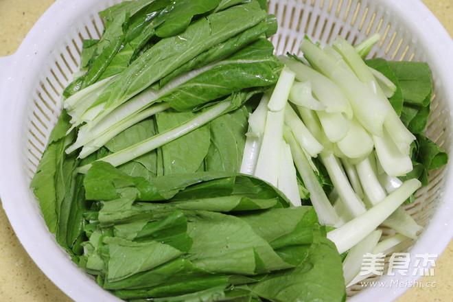 蒜蓉腐乳小白菜的家常做法