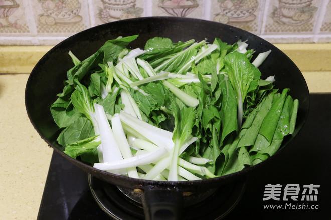 蒜蓉腐乳小白菜怎么做