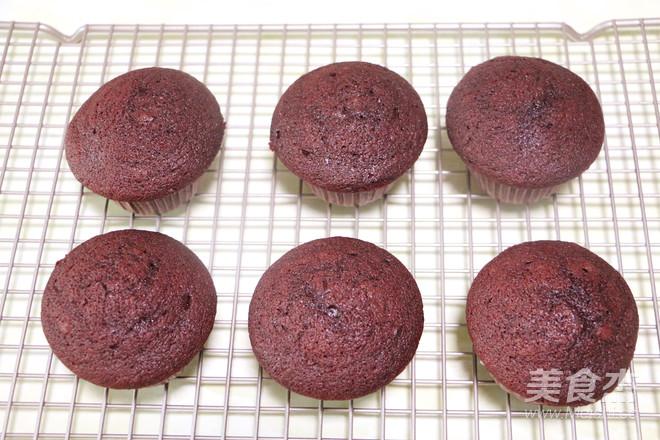 红丝绒杯子蛋糕的制作方法