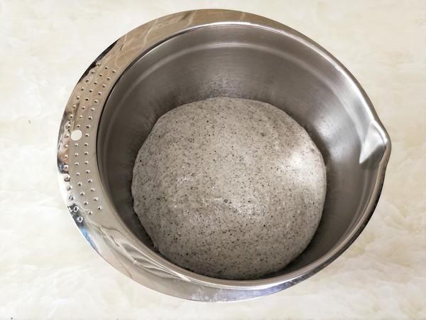 黑芝麻紫糯米餐包怎么做