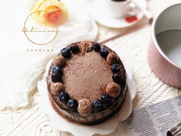 红茶巧克力奶油蛋糕的做法大全