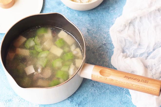 丝瓜香菇肉片汤怎样做