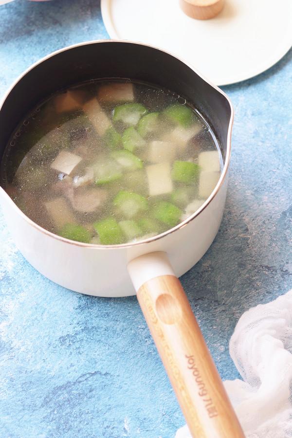 丝瓜香菇肉片汤怎样煮
