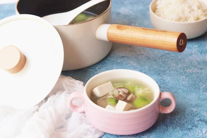 丝瓜香菇肉片汤的制作大全