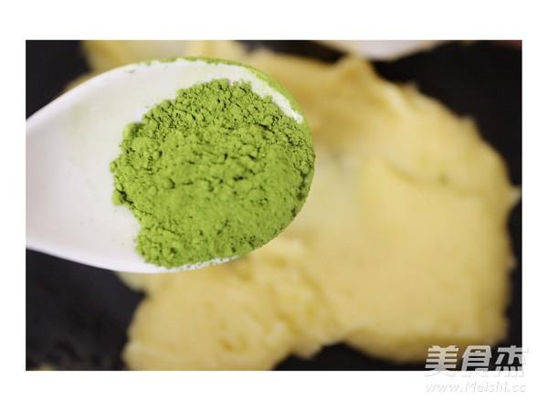彩色绿豆饼怎样煸