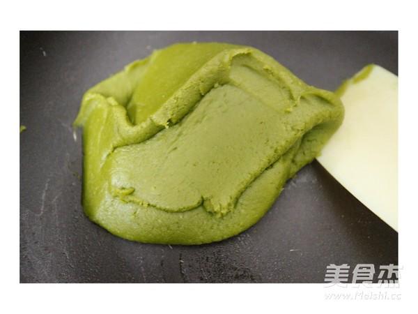 彩色绿豆饼怎样炒