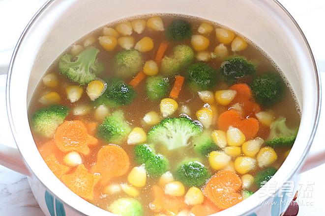 简单又快手,田园蔬菜汤的步骤