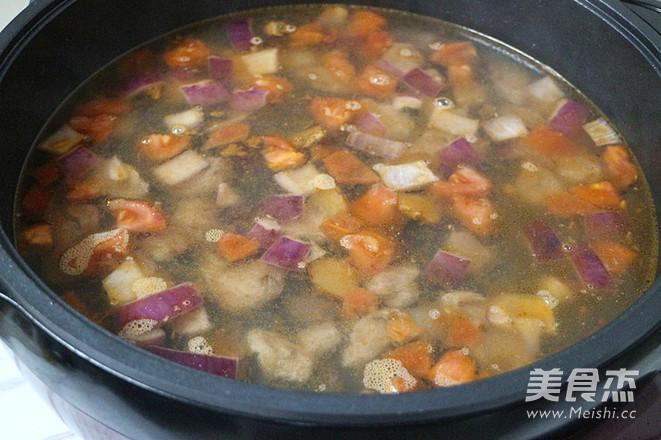 番茄牛肉汤怎么煮