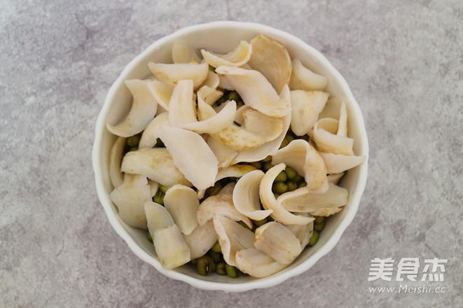 绿豆百合豆浆的做法图解