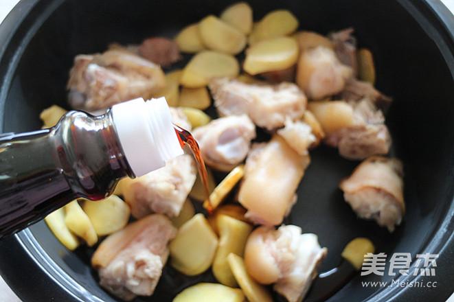猪脚姜的简单做法