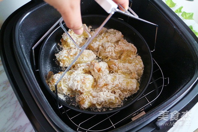 酥炸沙丁鱼排(空气炸锅版)的步骤