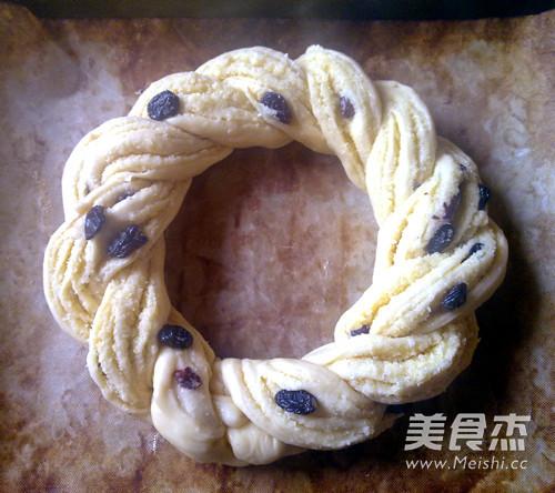椰蓉葡萄花环面包怎样煮
