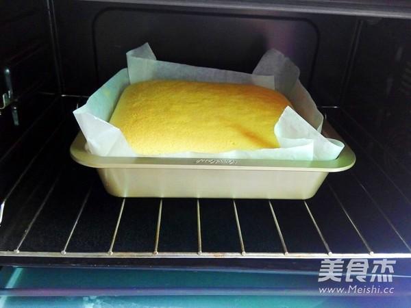 奶香棉花蛋糕怎么做