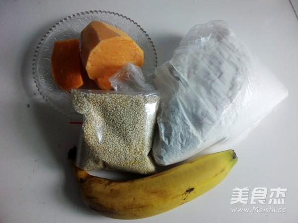 香蕉红薯饼的做法大全